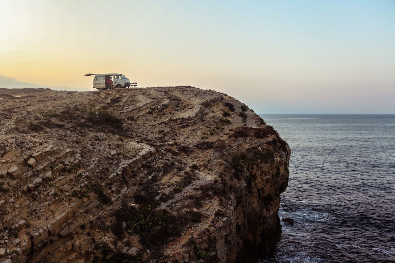 Campervan in Portugal