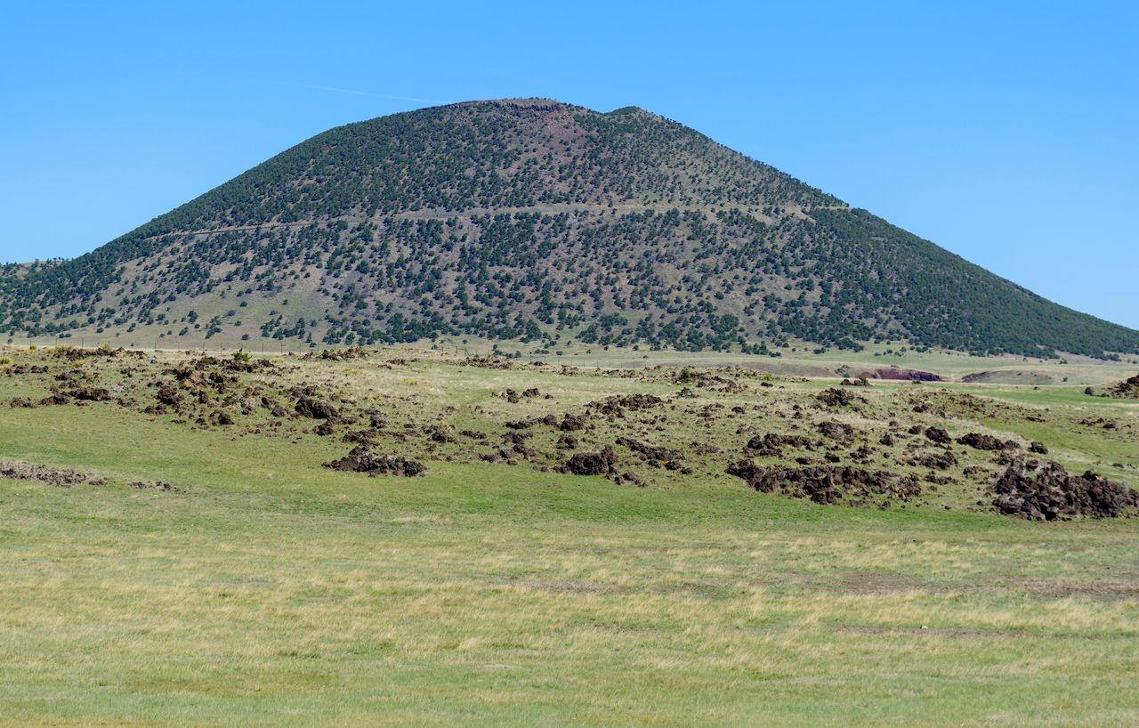 Capulin Volcano National Monument, New Mexico road trips