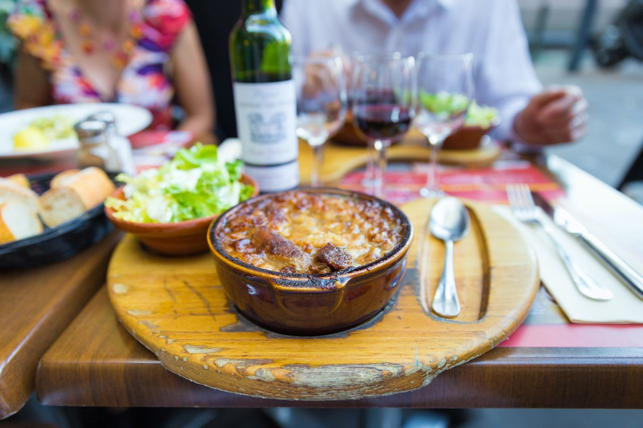 Cassoulet, regional food france