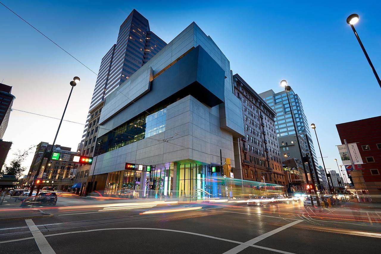 Contemporary Arts Center Zaha Hadid's buildings