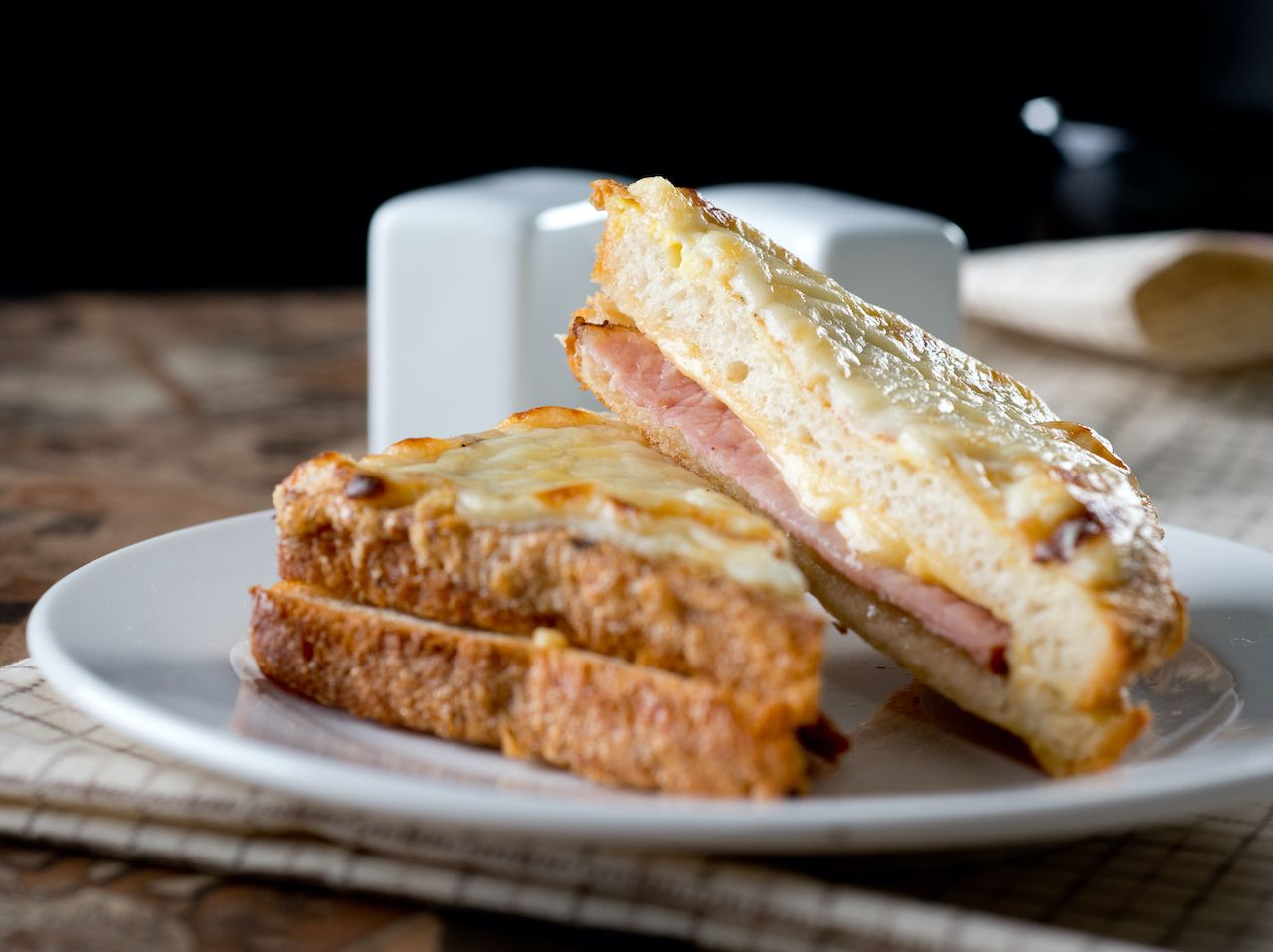 Croque monsieur, regional food france