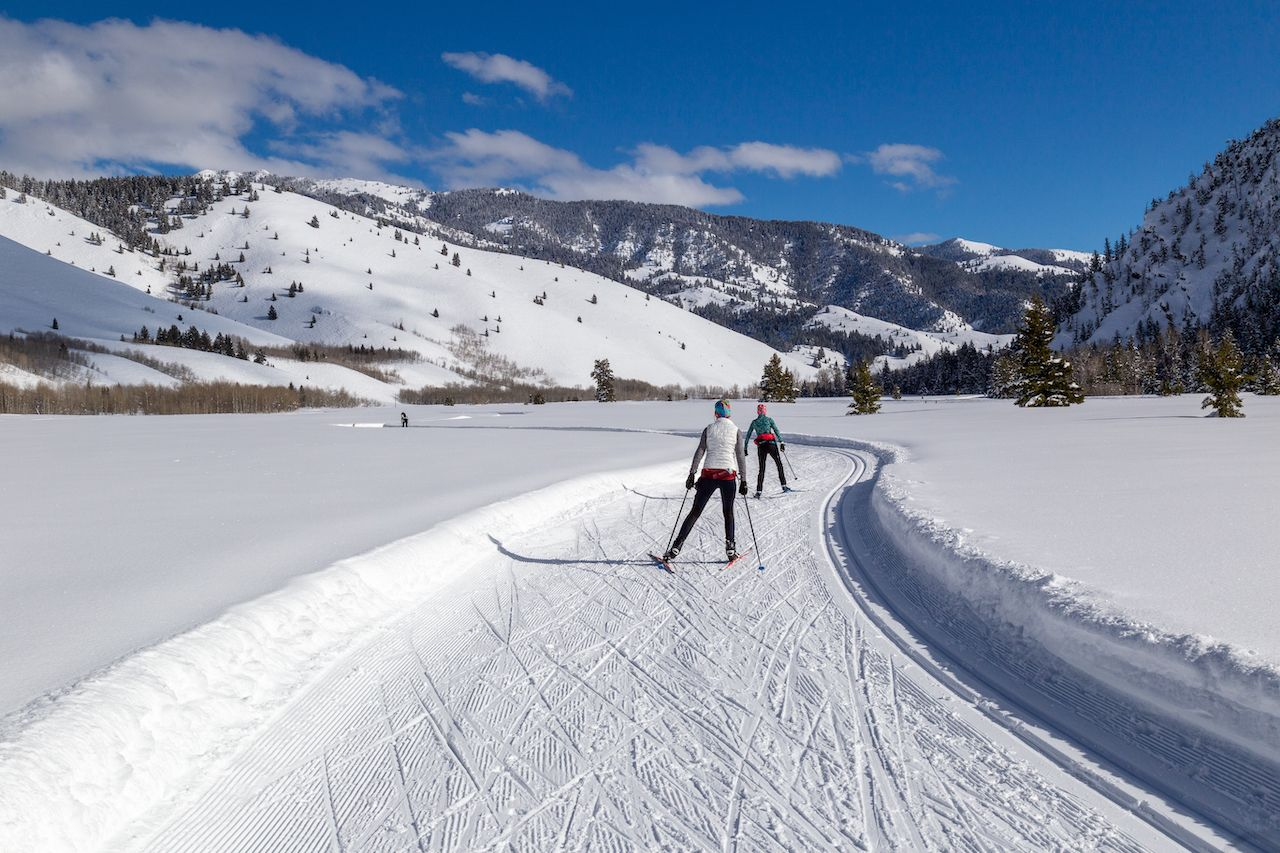 Cross country in Sun Valley, Idaho, what to do in Ketchum