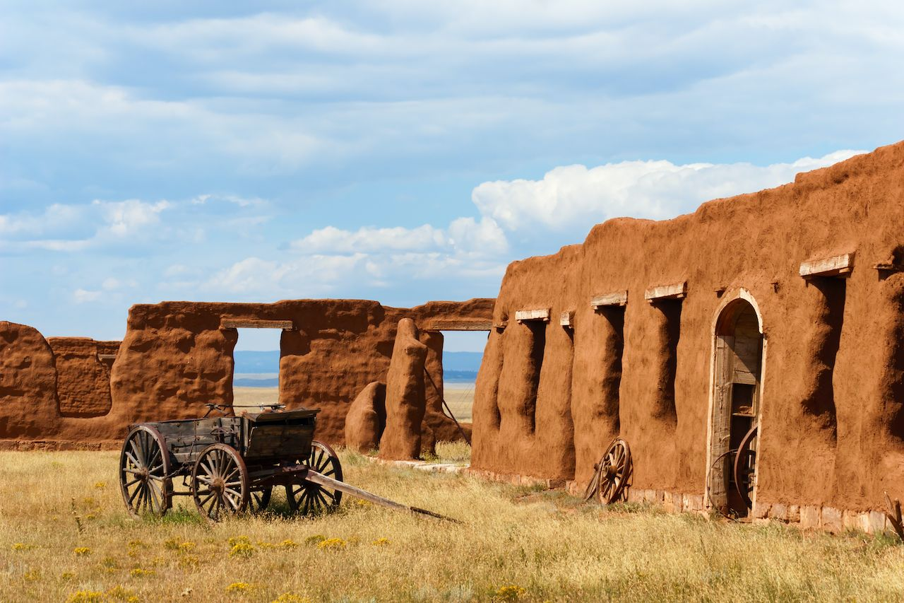 Fort Union National Monument, New Mexico road trip