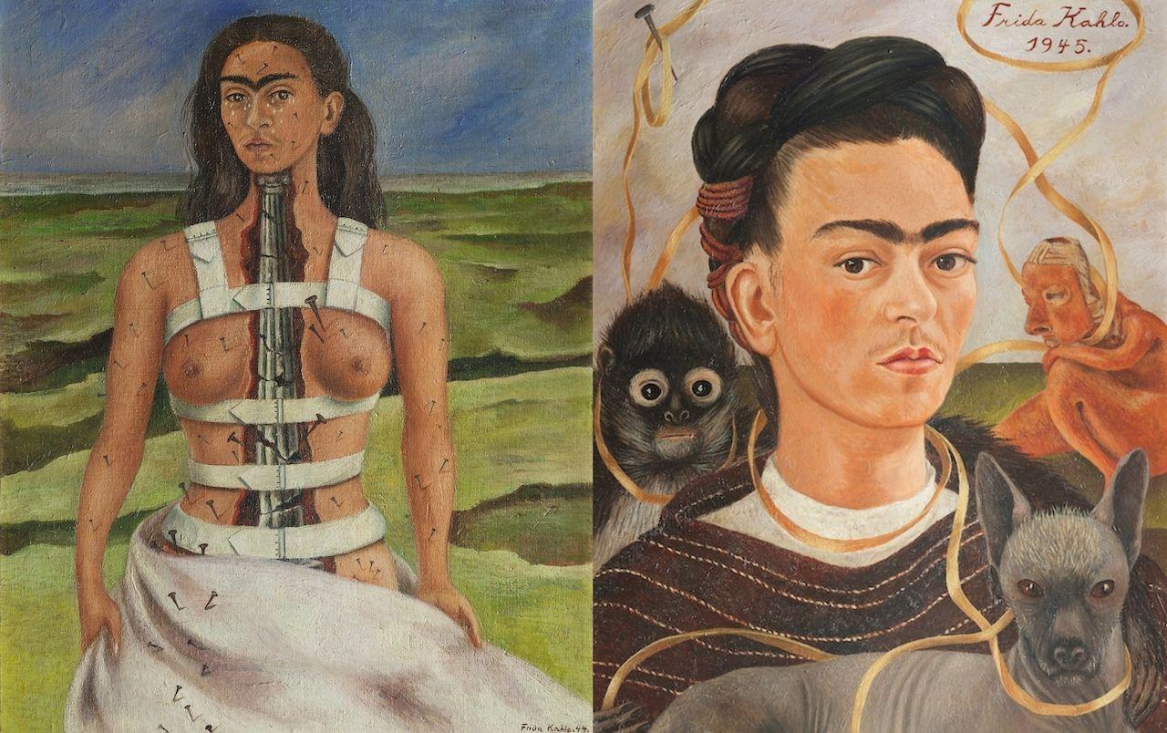 Frida Kahlo famous paintings