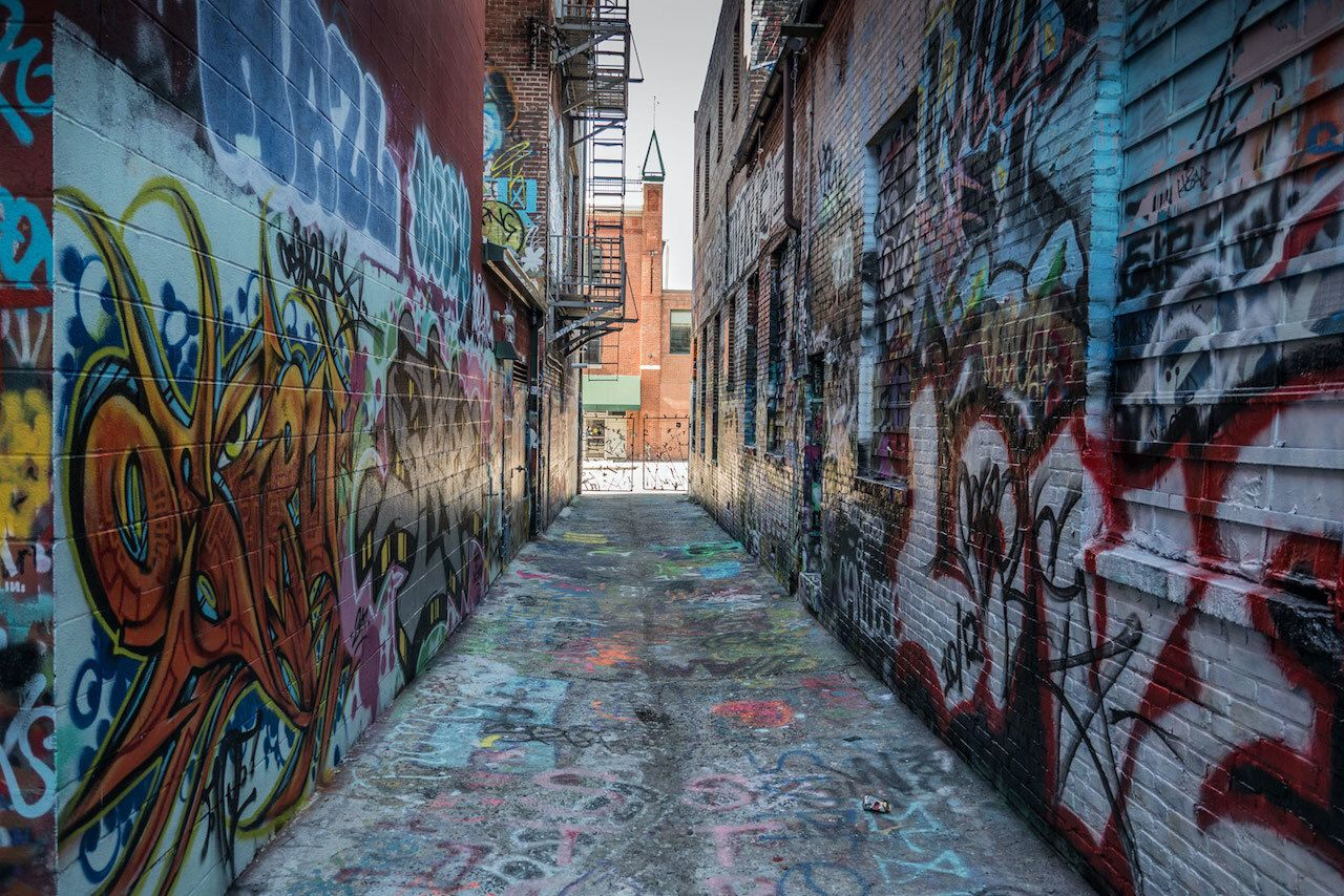Graffitti Alley, Baltimore, best attractions