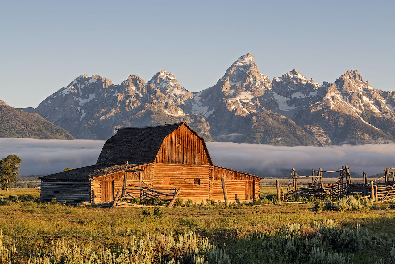 Grand Teton, most visited national parks in 2020