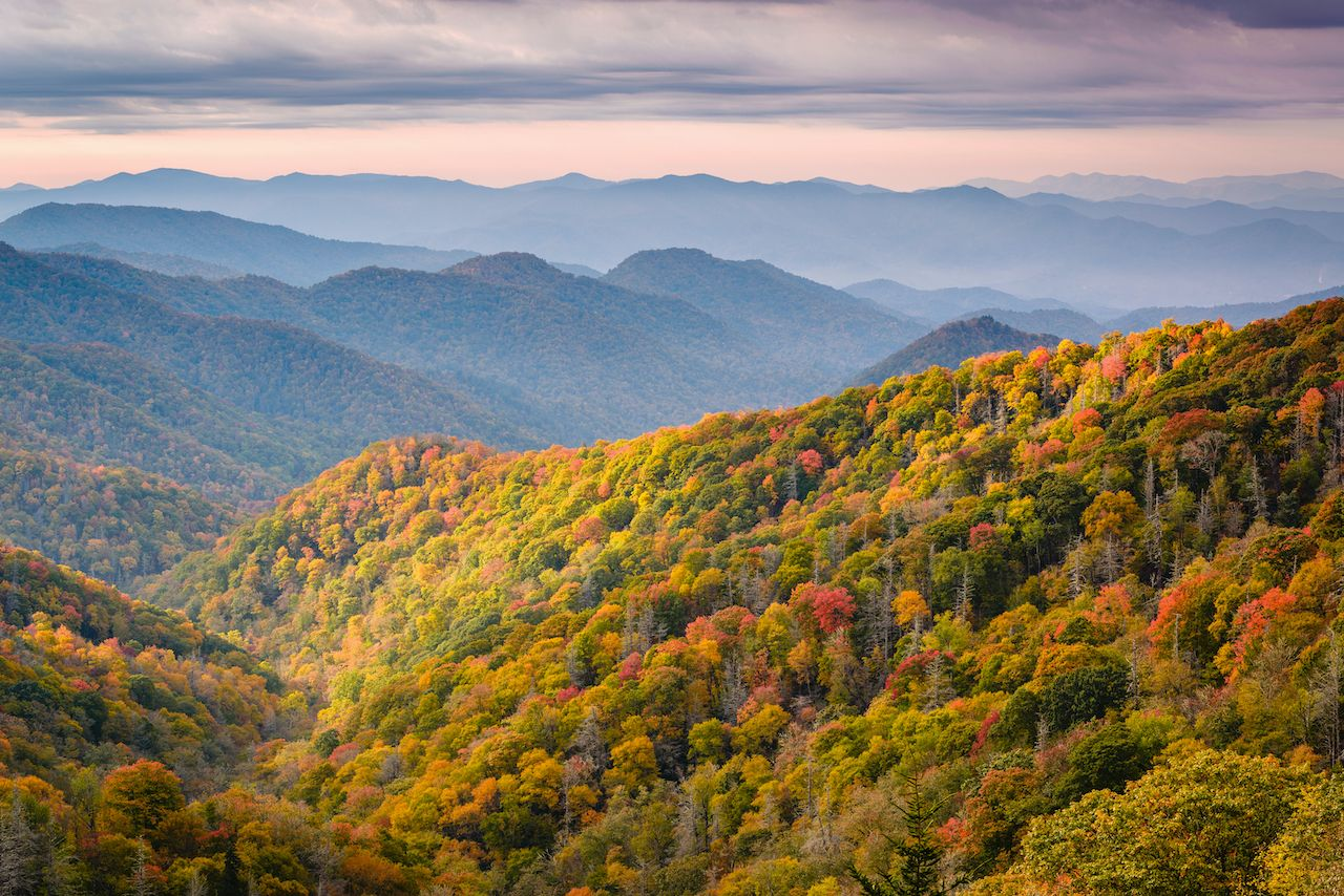 Great Smoky Mountains National Park, most visited national parks in 2020
