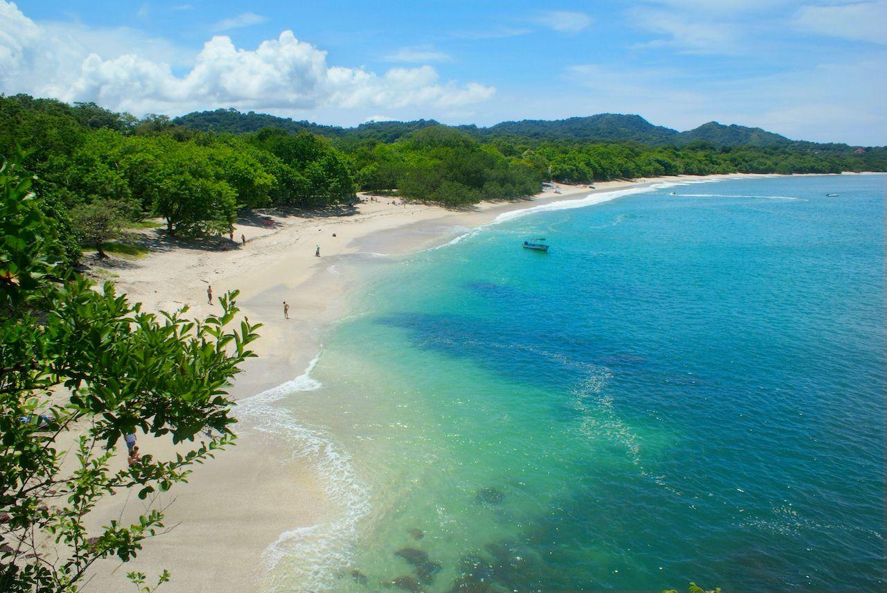 Guanacaste beach in Costa Rica