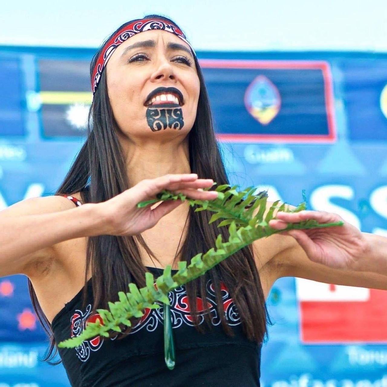 Maori person