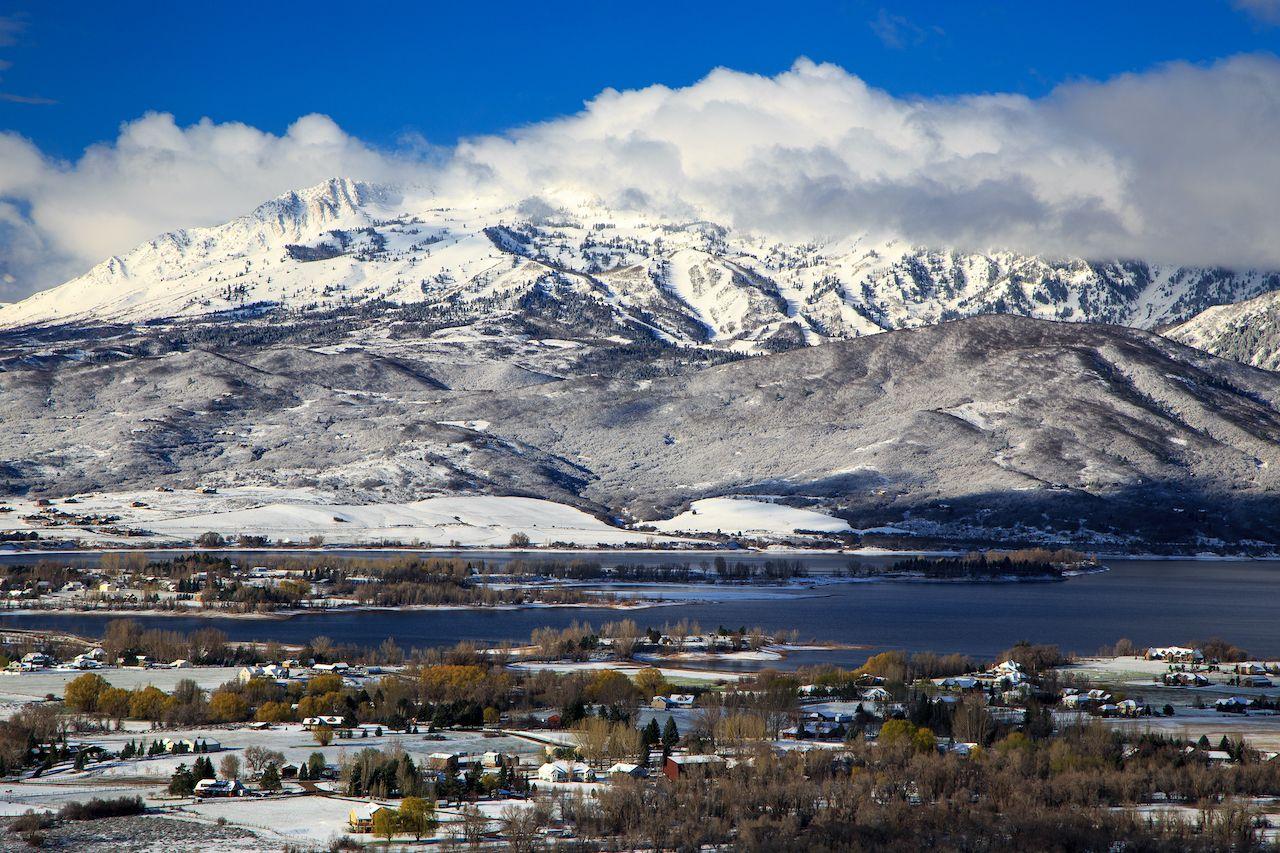 Huntsville, Utah, ski resort