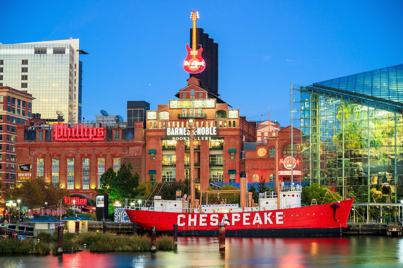 Inner Harbor, Baltimore, best attractions