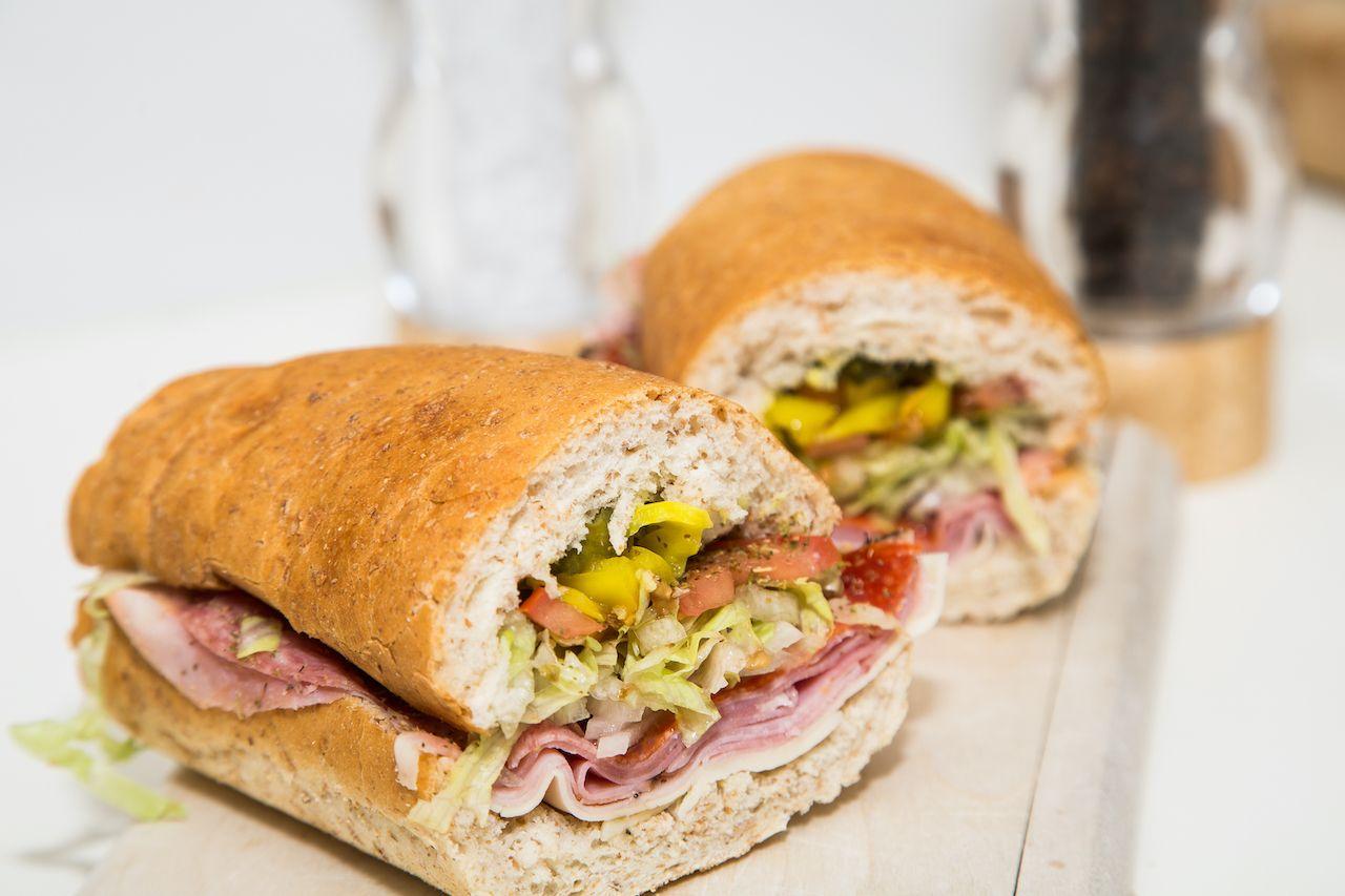 Italian sub, New Jersey sandwiches