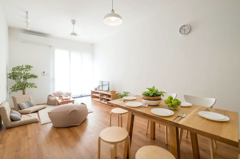 Japandi design trend Airbnb