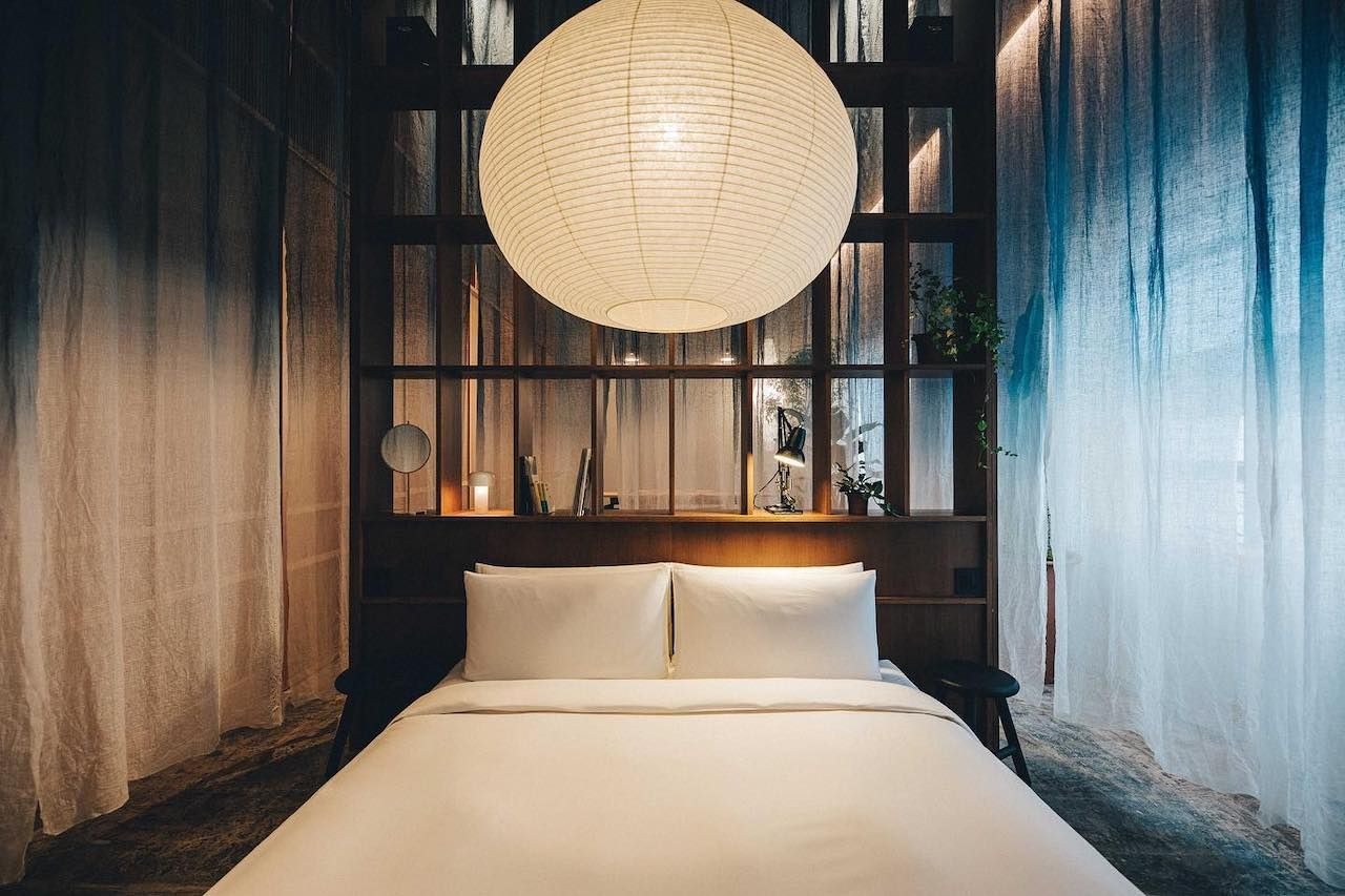 K5 hotel Japandi design trend