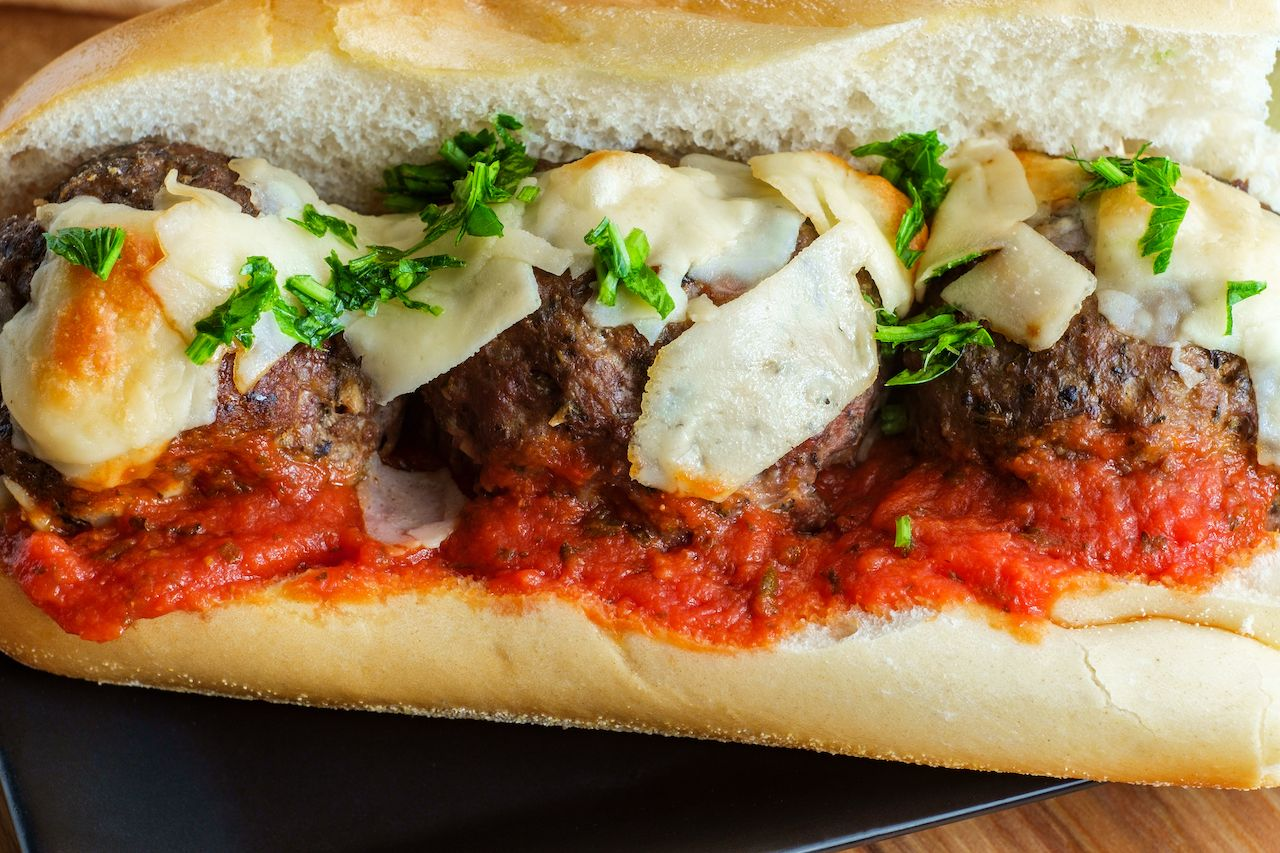 Meatball sub, New Jersey sandwiches