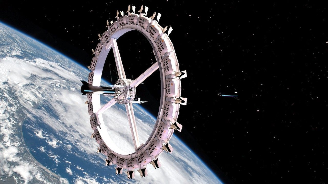Orbital Assembly space hotel