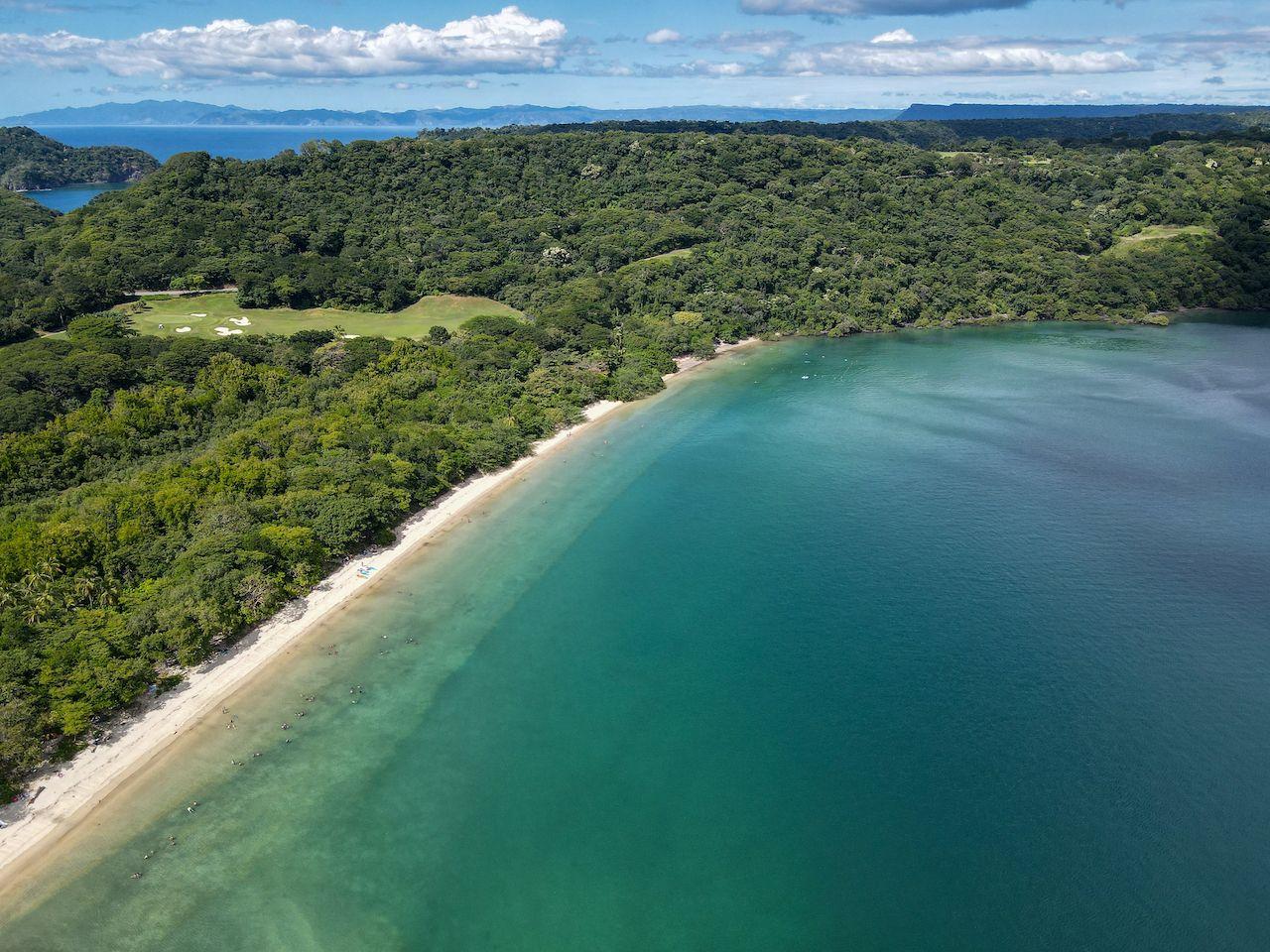 Playa Nacascolo at Peninsula Papagayo in Costa Rica