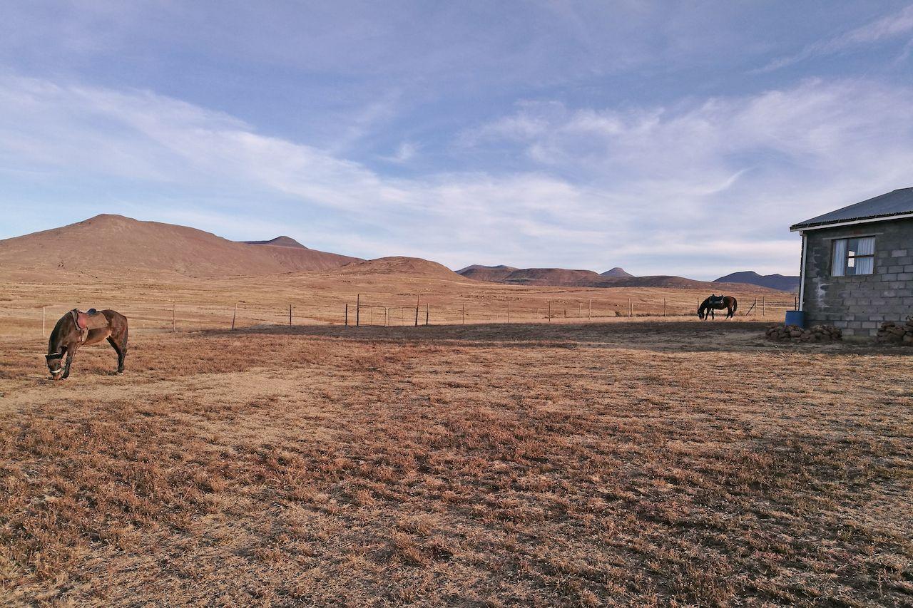 Polihali, Lesotho, skiing