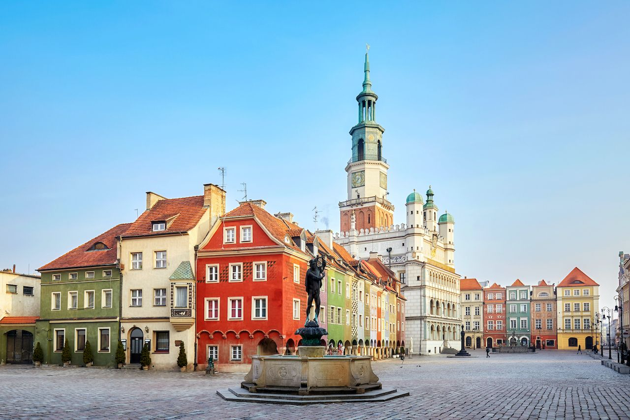 Poznan, Poland, vaccinated travelers