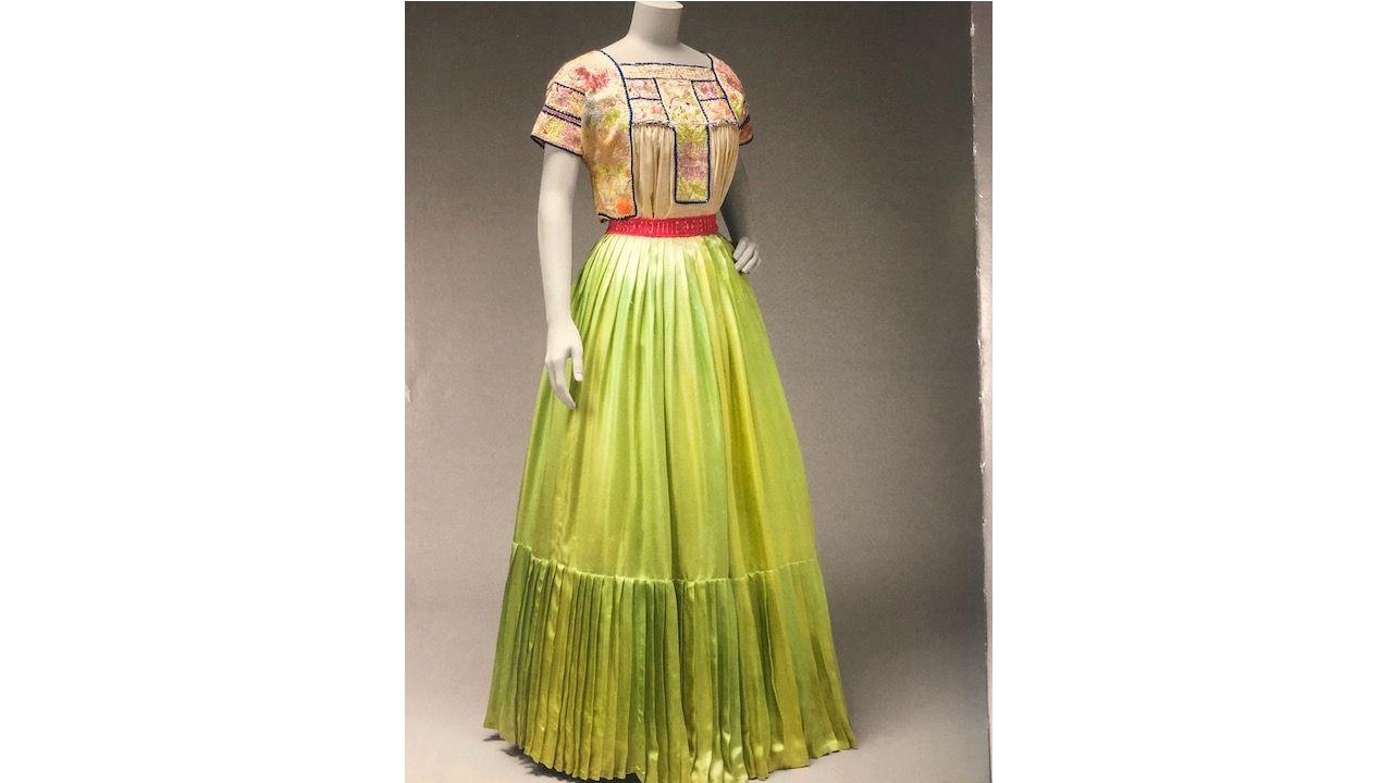 Replica of a Frida Khalo dress
