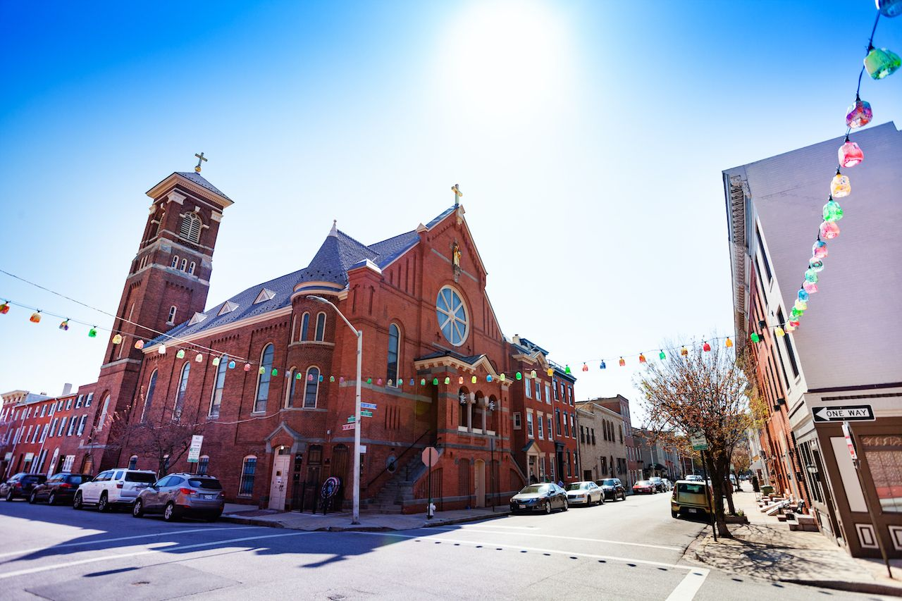 St. Leo's Church in Little Italy, Baltimore