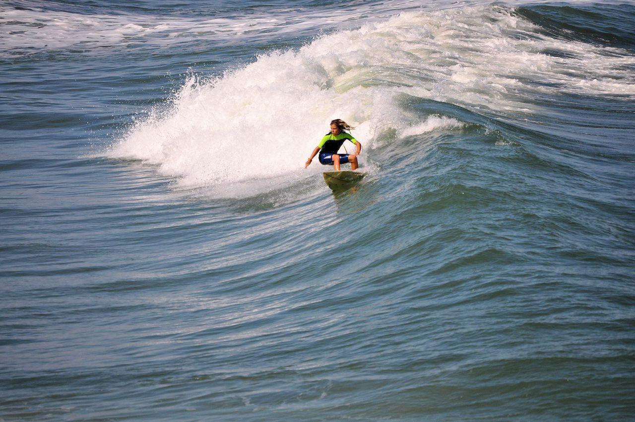 Surfer in North Carolina