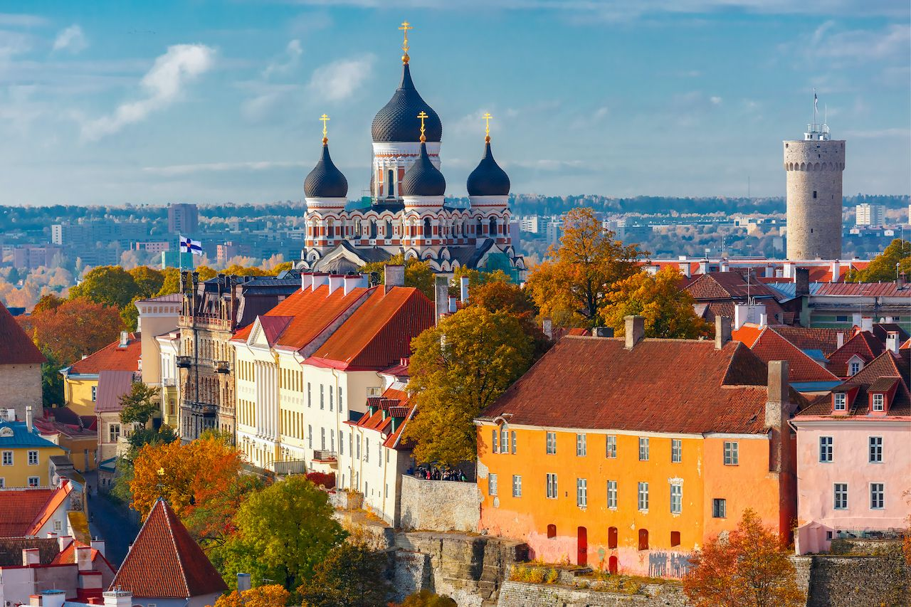 Tallinn, Estonia, for vaccinated travelers