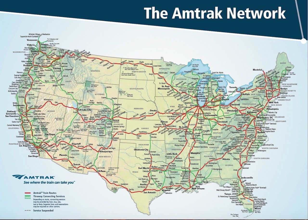 The Amtrak Network