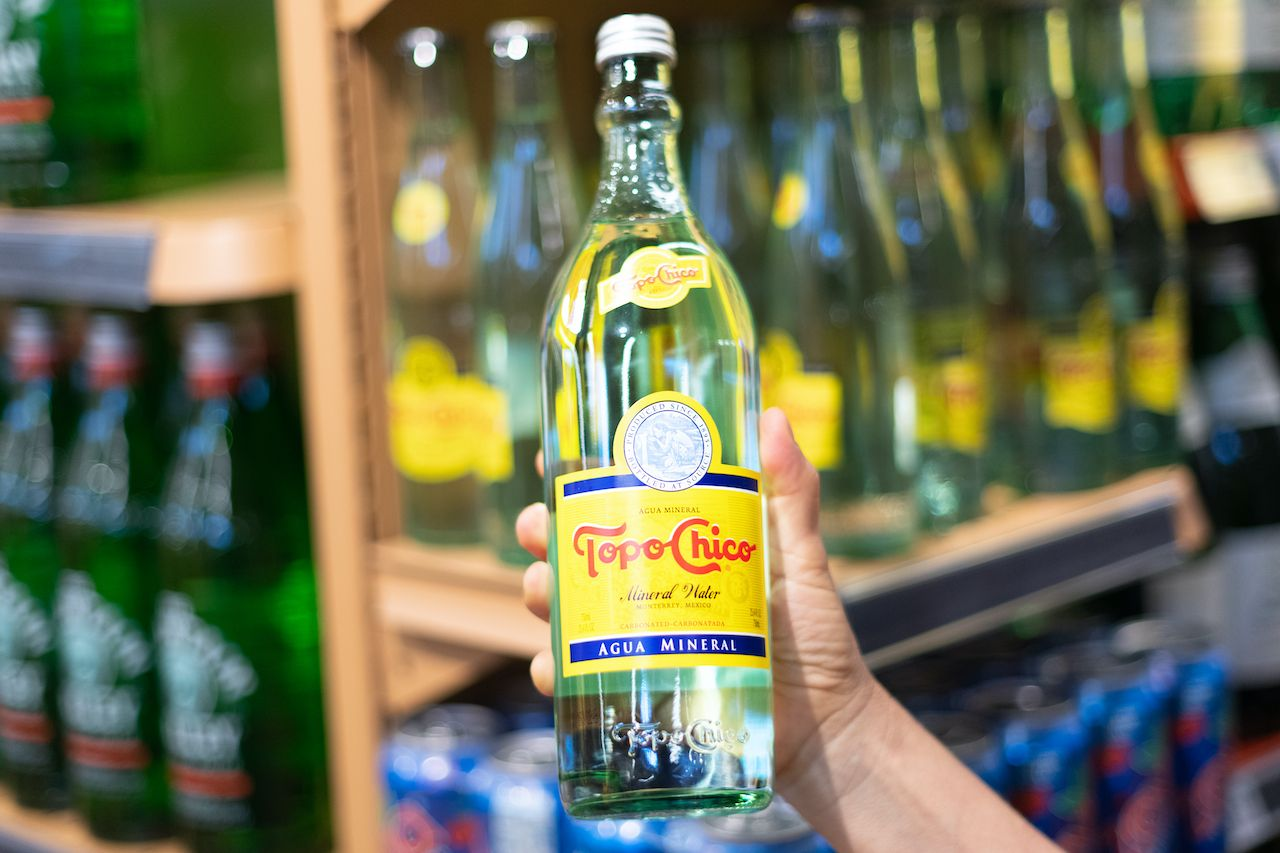 Topo Chico bottle