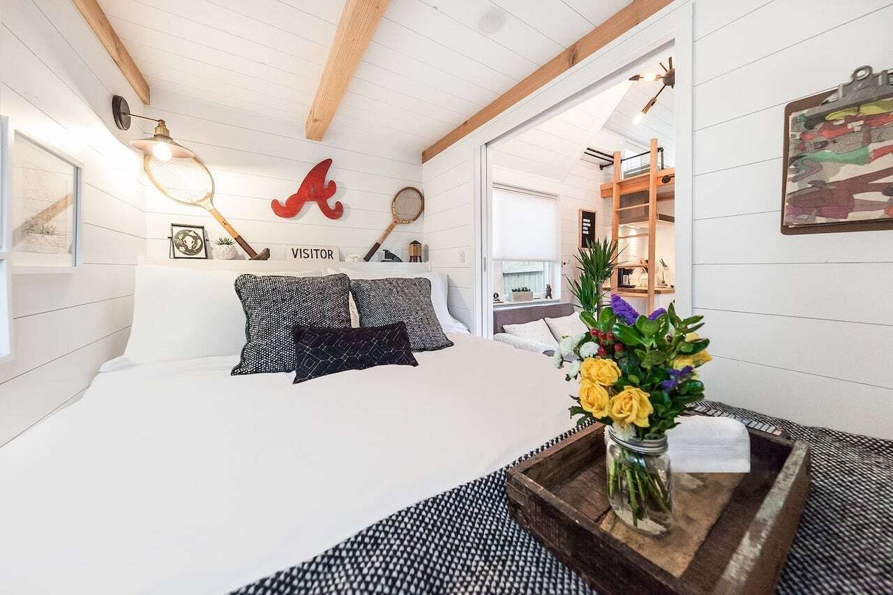 Two-bedroom tiny house Atlanta