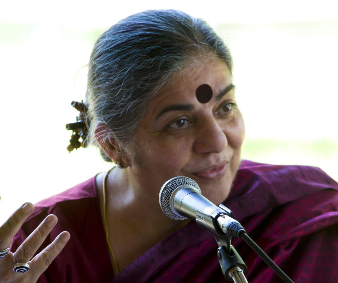 Vandana Shiva, women environmental activists