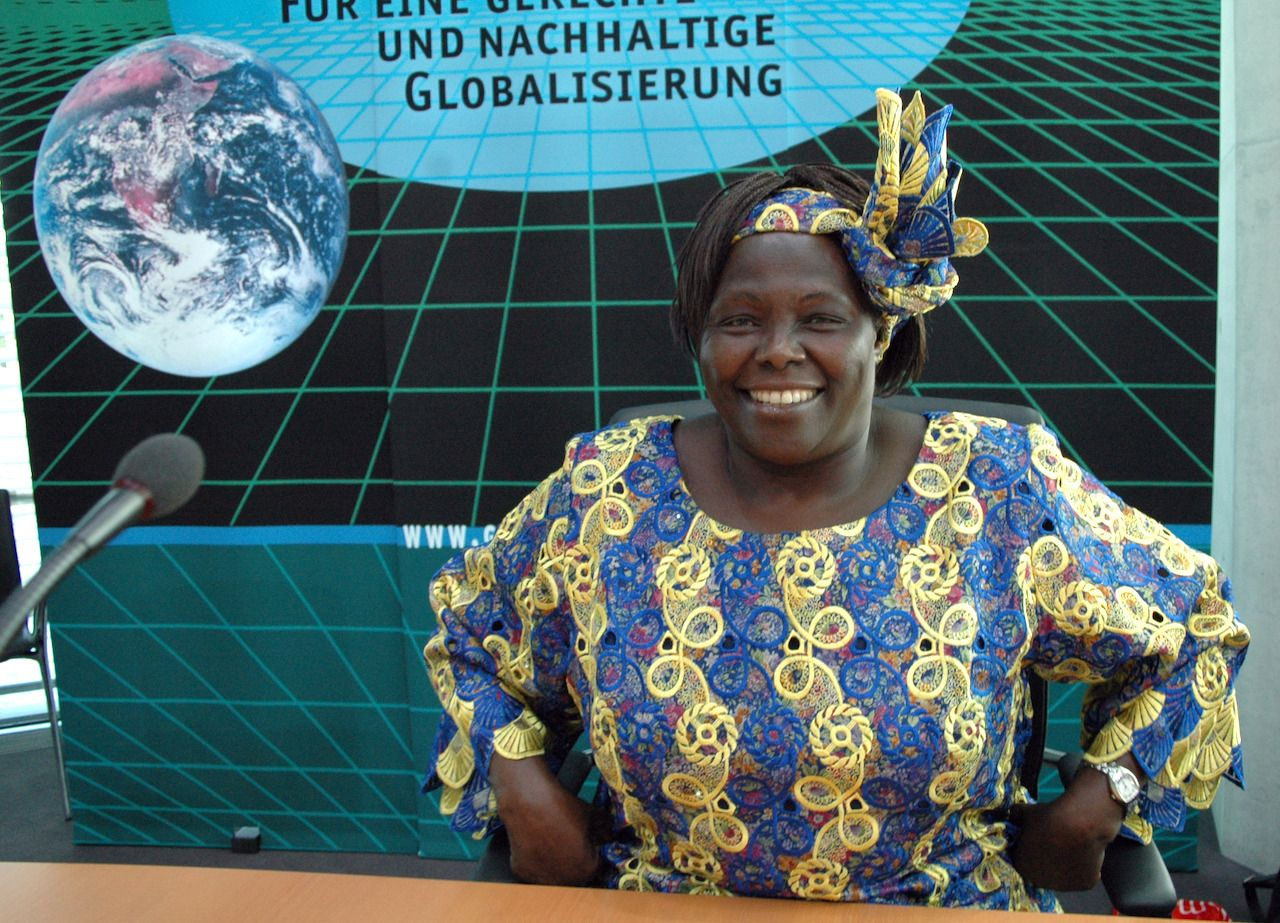 Wangari Maathai women environmental activist