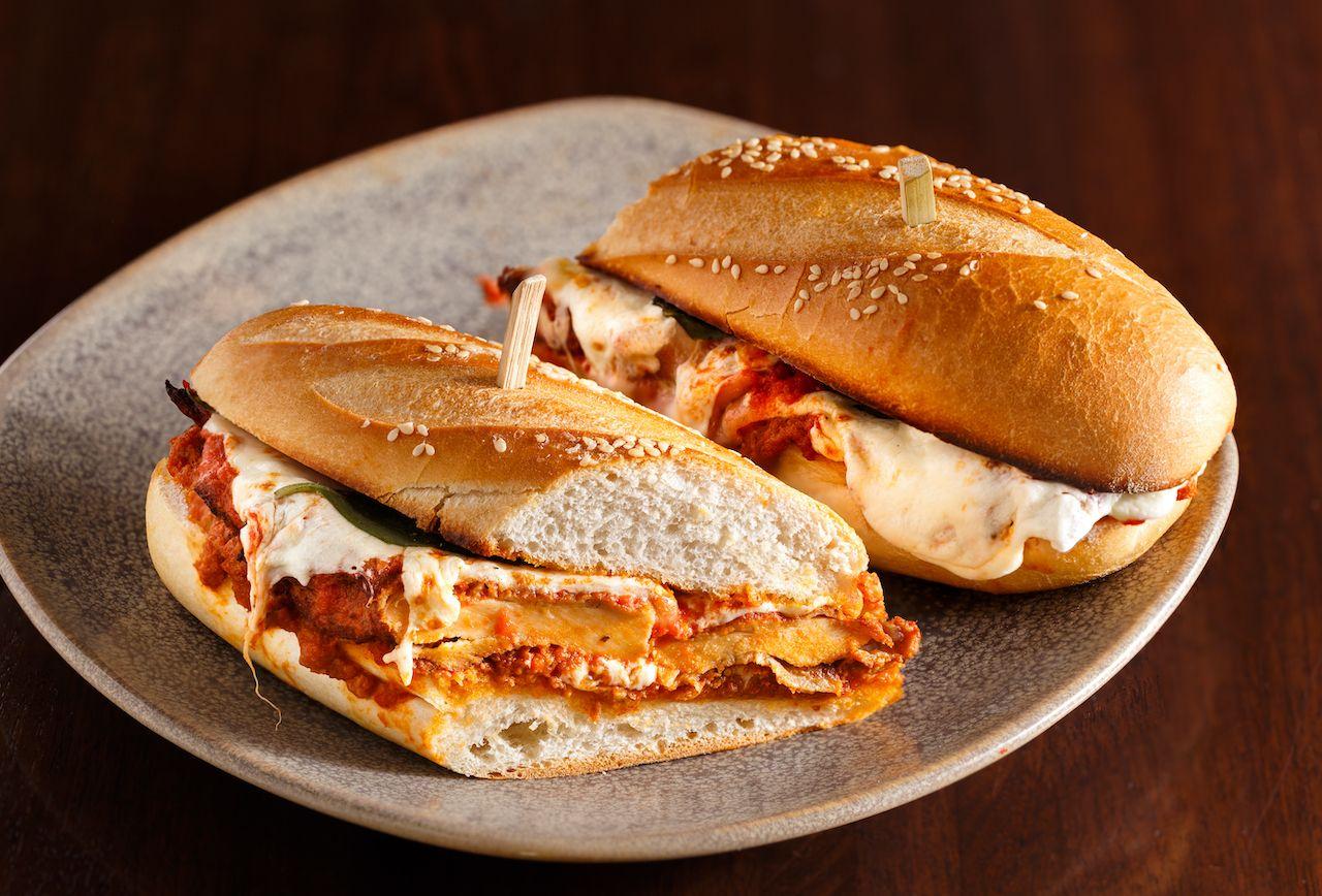 chicken parm, new jersey sandwiches