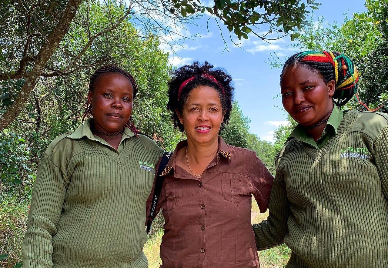 paula kahumbu, women environmental activists