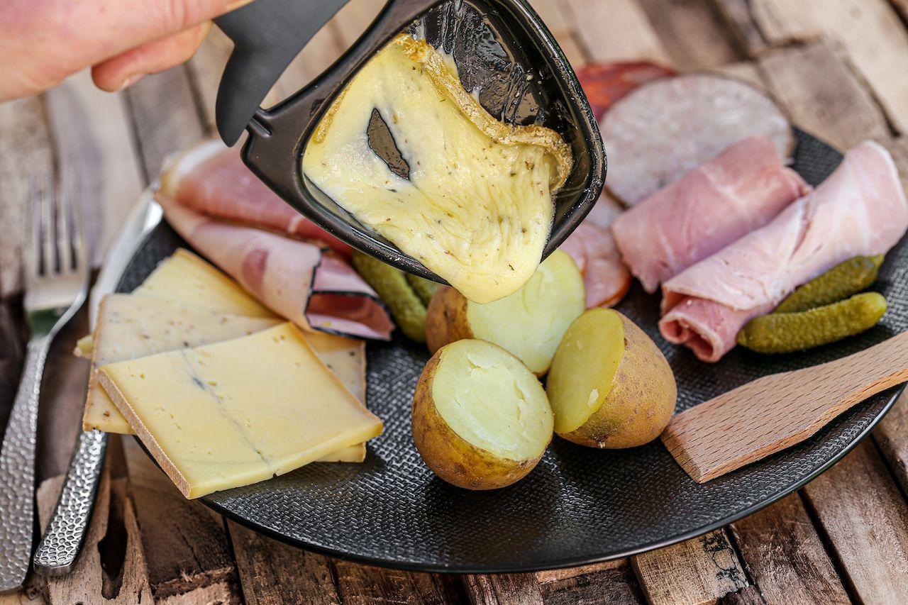 raclette, regional food france