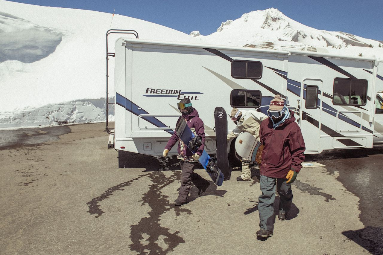 How to turn your RV into the perfect adventure sports basecamp