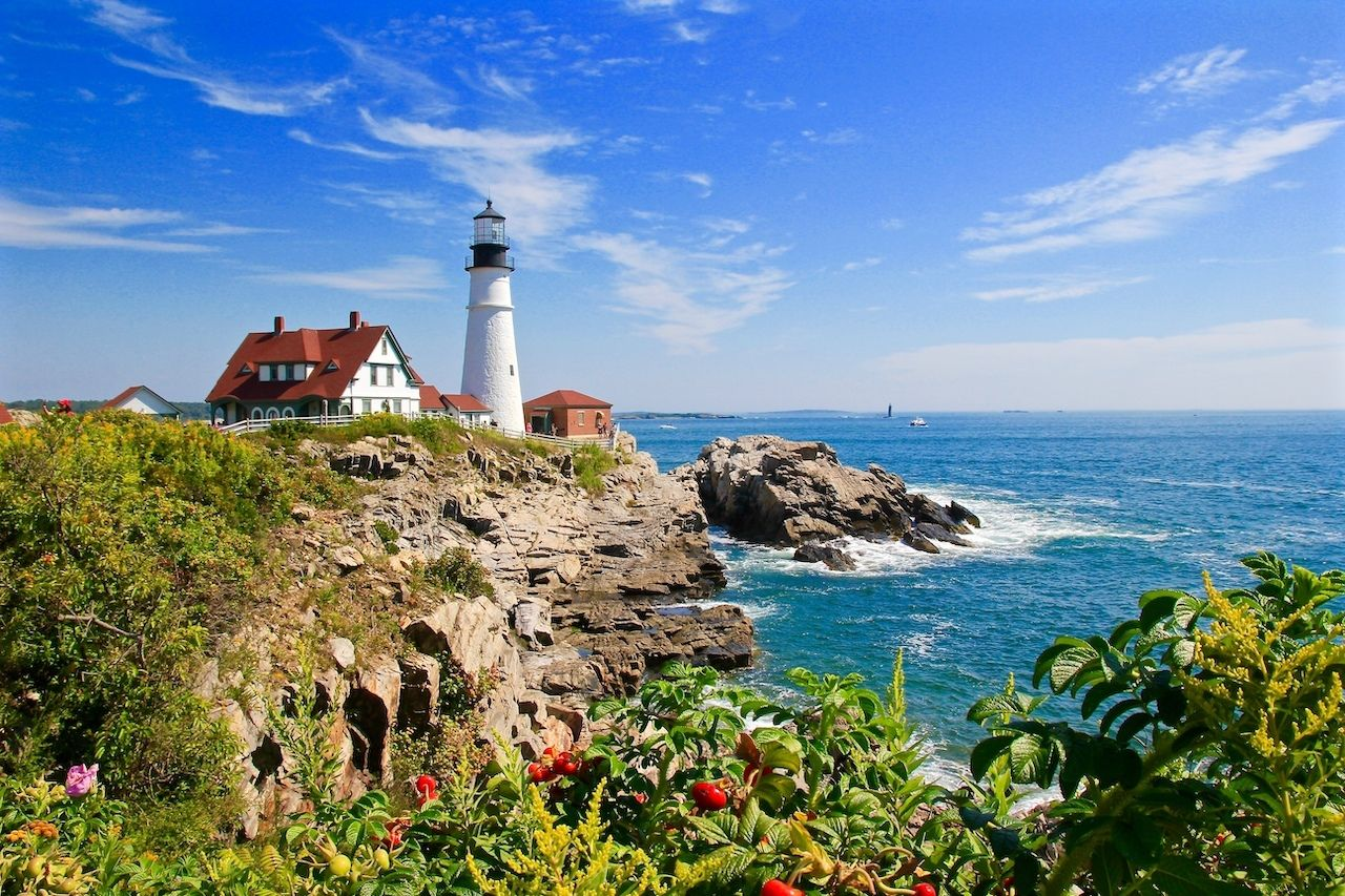 Cape Elizabeth in Portland, Maine