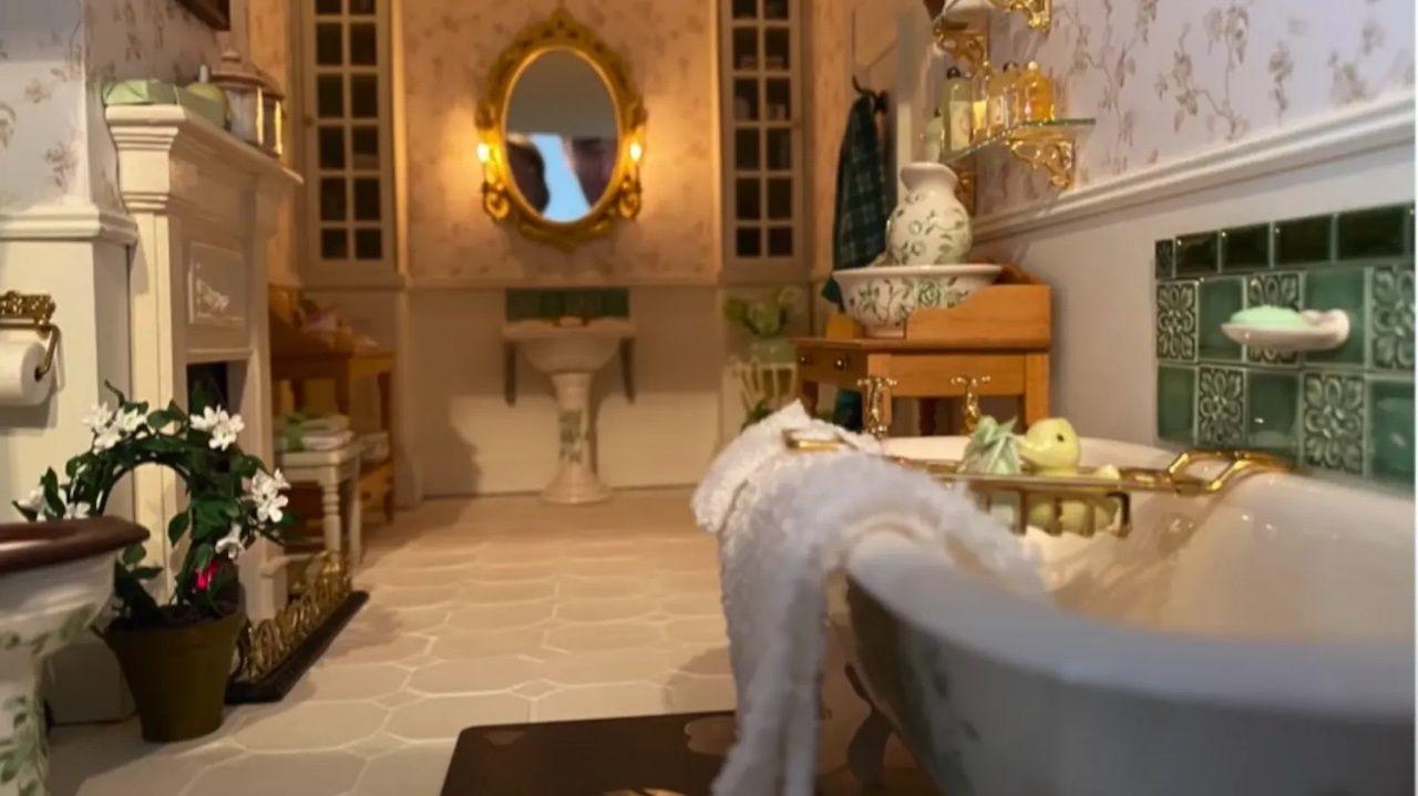 Airbnb dollhouse