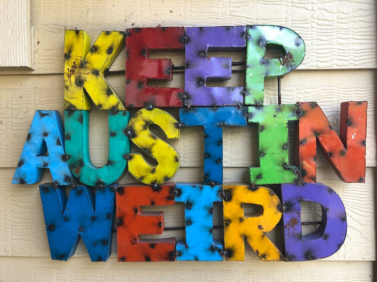 Keep Austin Weird sign