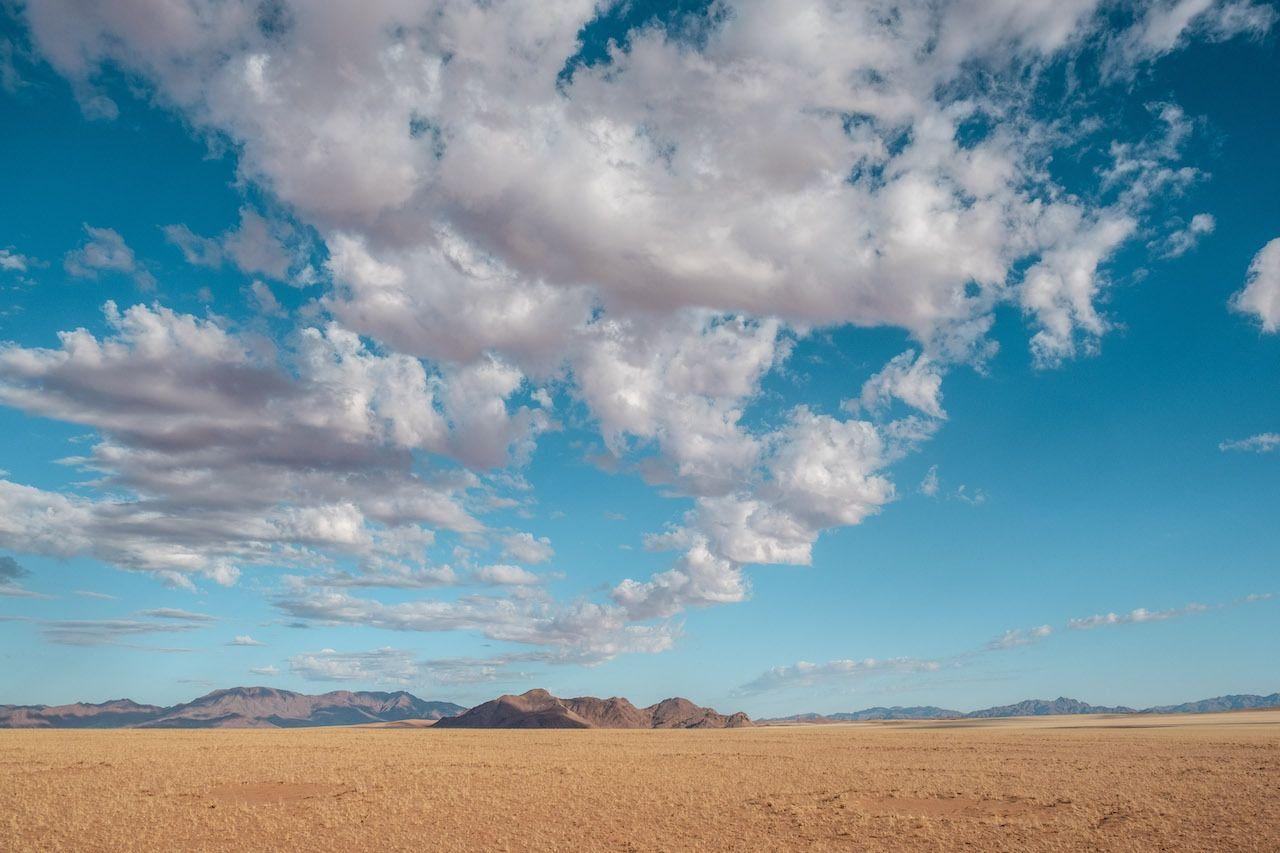 Landscape horizon Namibia
