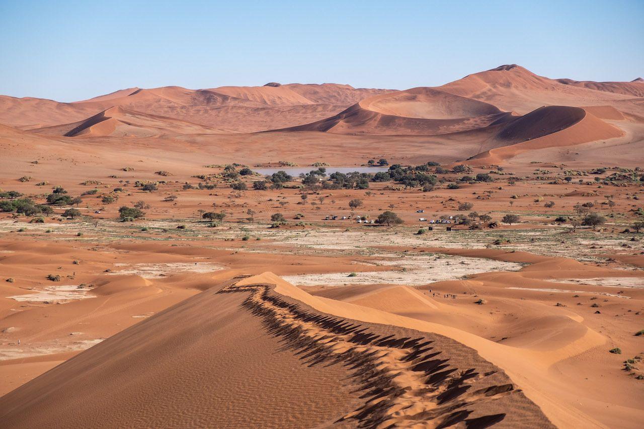 Landscape sand day Namibia