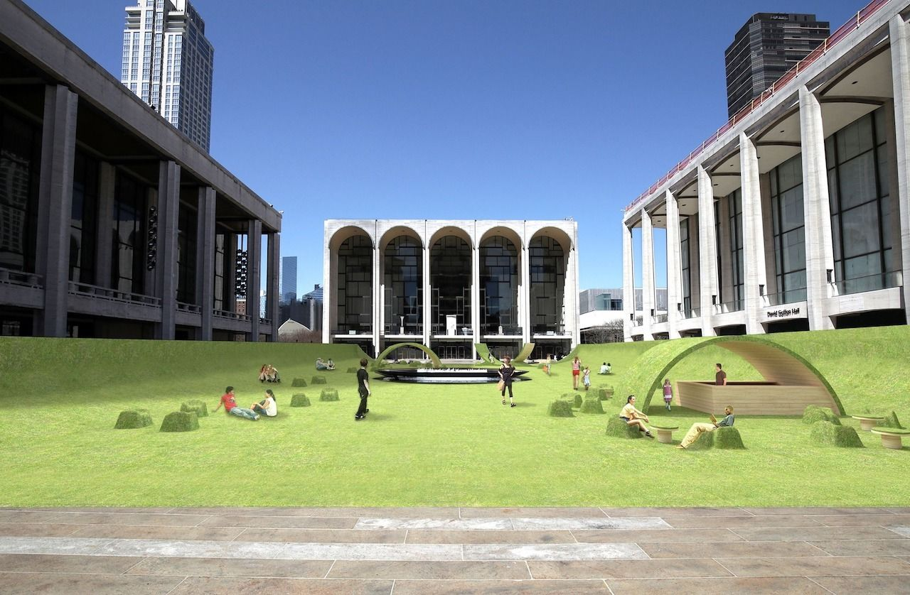 Lincoln Center's faux Lawn, best outdoor events in new york city 2021