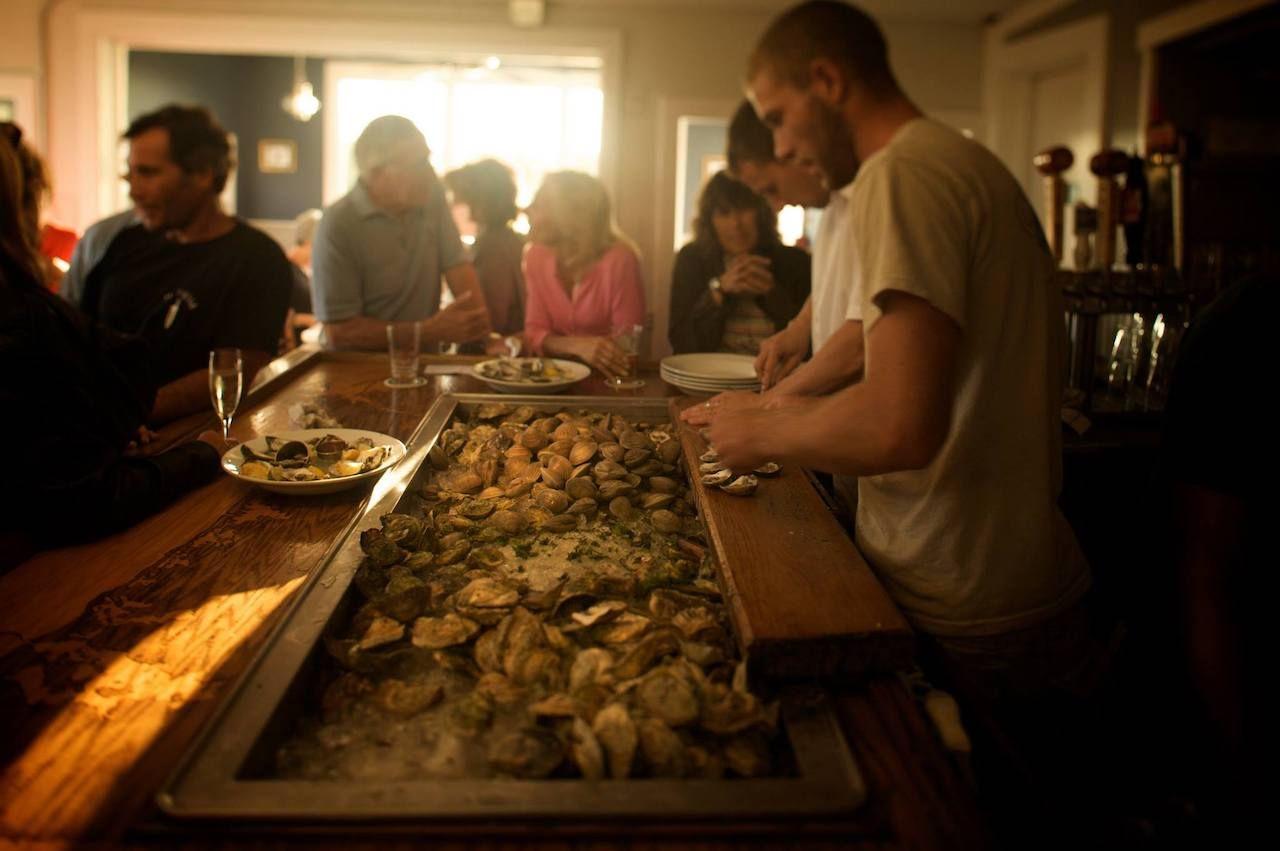 Matunuck Oyster Bar, Rhode Island seafood