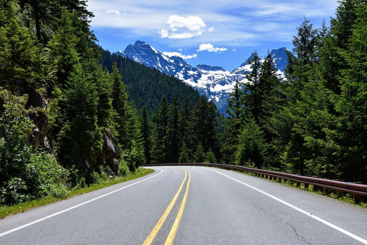 North Cascades National Park, best states for vanlife
