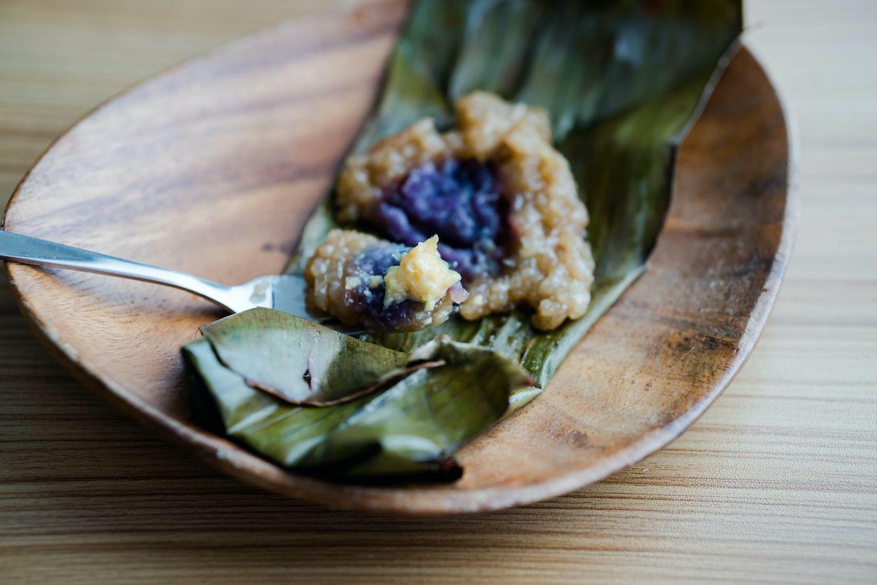 Suman Filipino dessert
