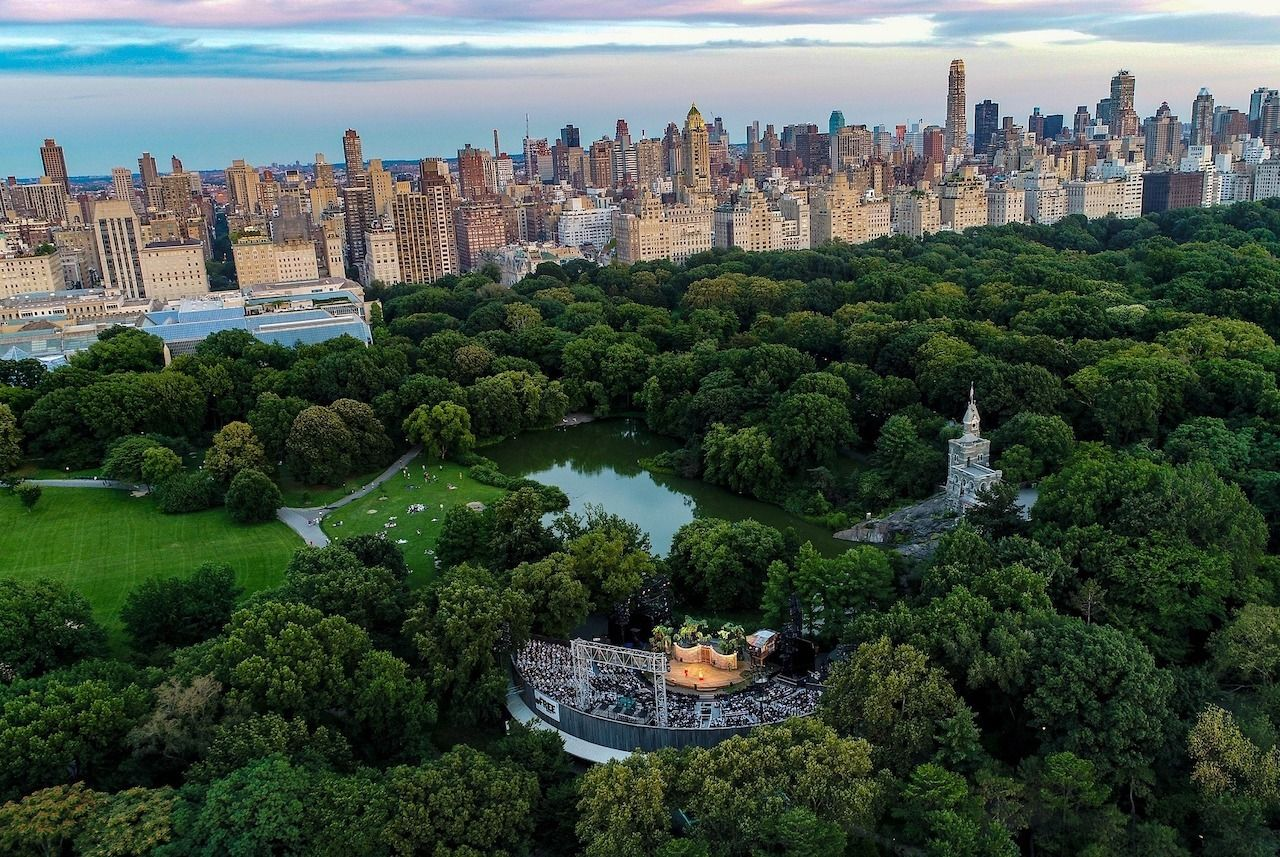 The Public Theater New York City, Outdoor events New York City 2021