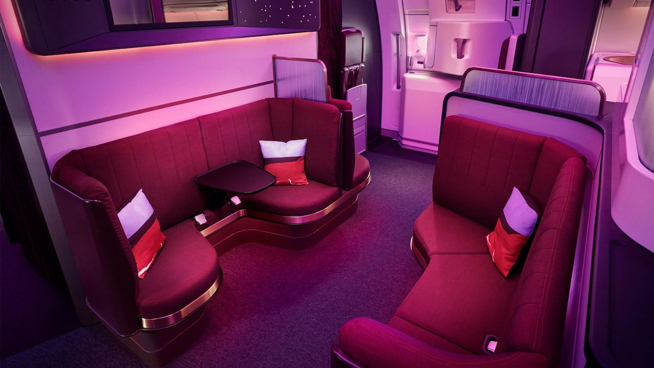 Virgin Atlantic Upper Class Loft