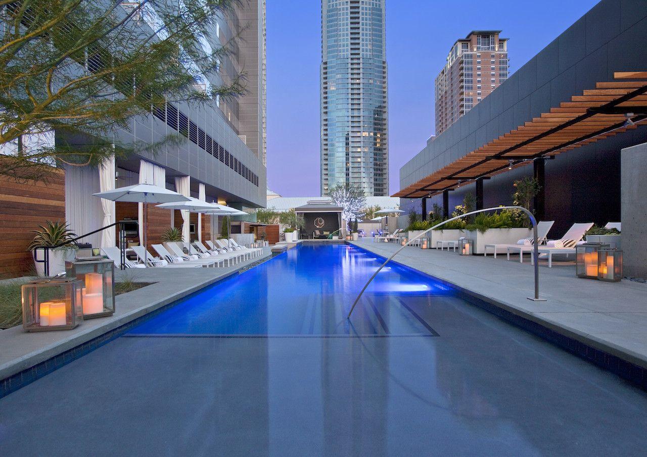 austin rooftop pool bars