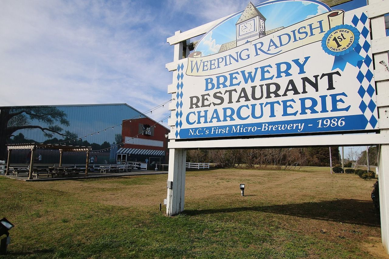 Weeping Radish Farm Brewery