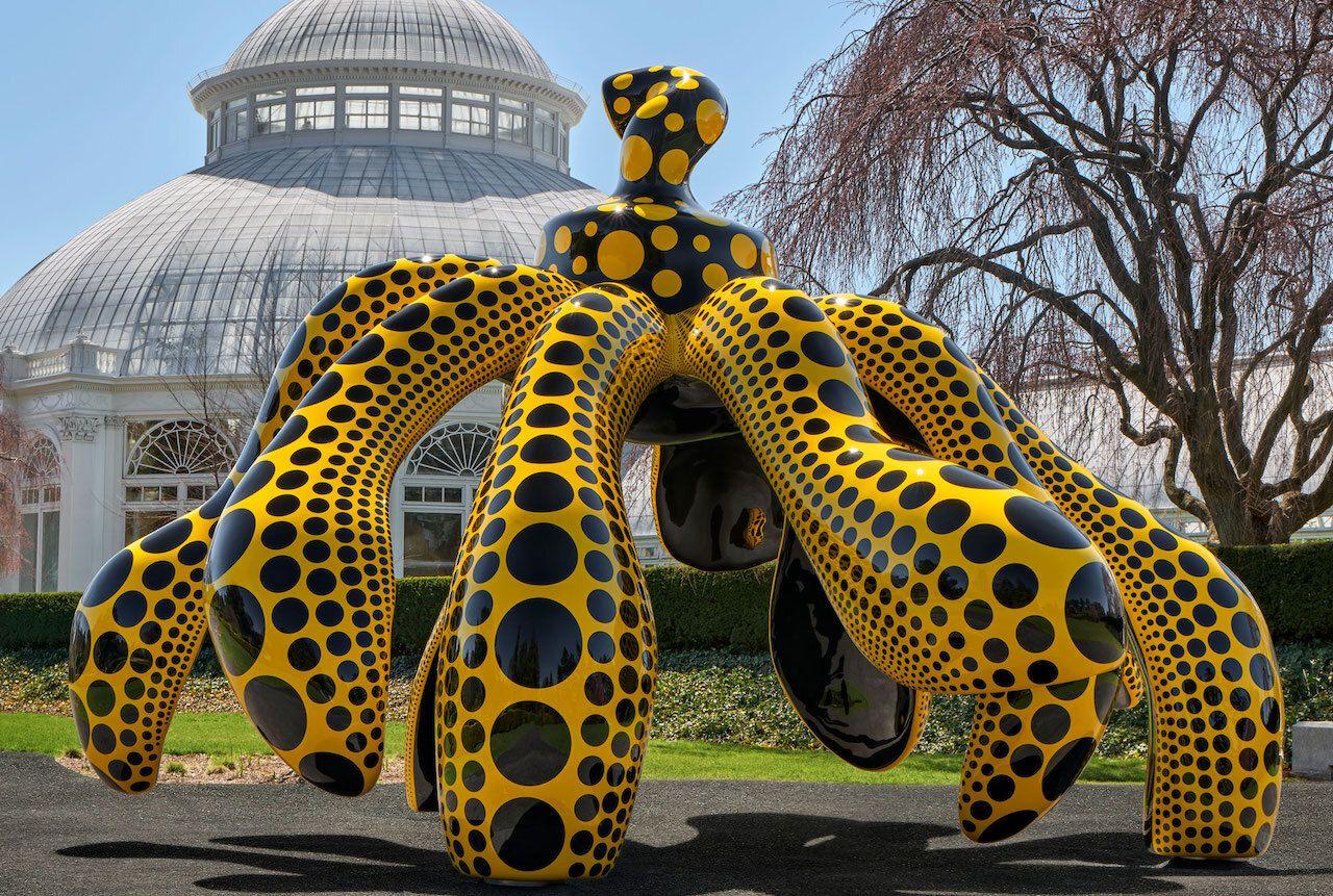 KUSAMA: Cosmic Nature artwork NY Botanical Gardens/best outdoor events new york city 2021